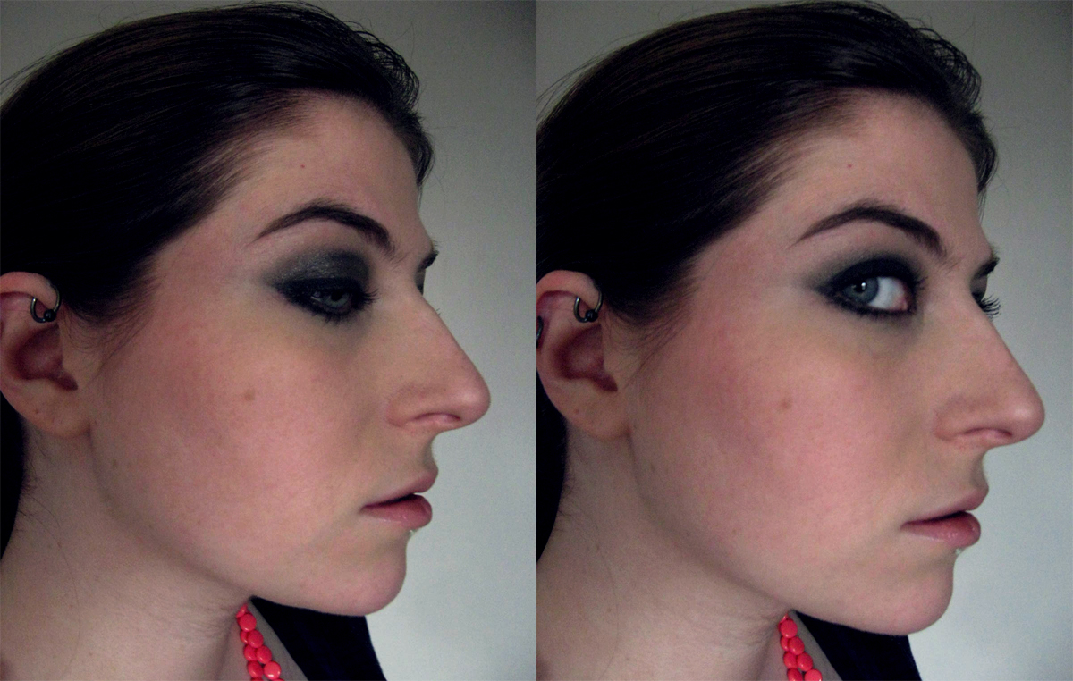 Heavy Black Eyeliner Cosmetic Confessional