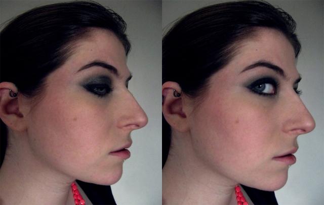 heavy goth eyeliner gunmetal smoky eye
