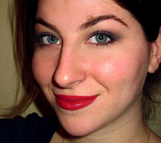 nyx matte lipstick merlot eyeshadow trio lake moss