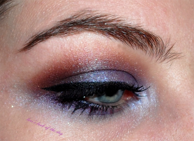 purple and plum sunset eyeshadow