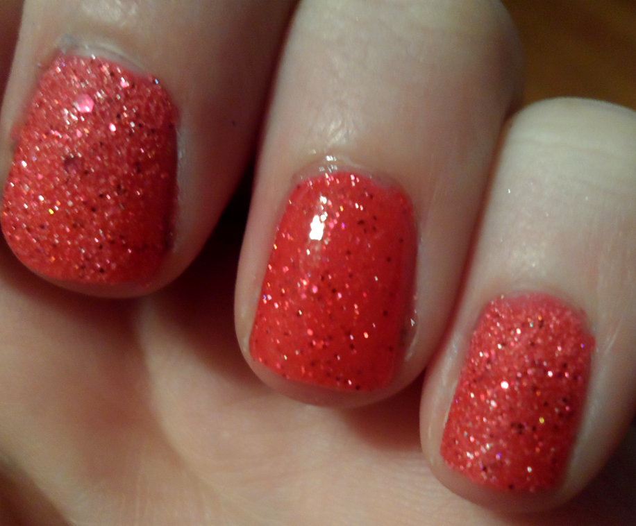 Coral nail Polish | Cosmetic Confessional