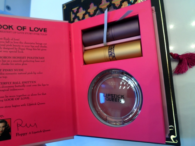 lipstick queen look of love set