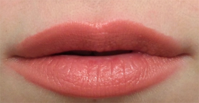 buxom big and healthy lip stick amsterdam nude lipstick swatch closeup