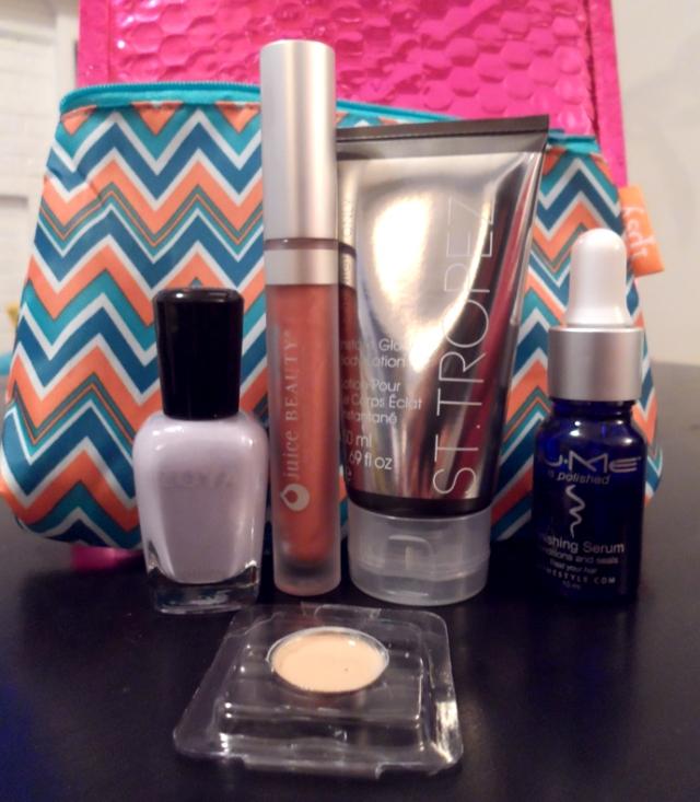 ipsy glam bag may 2013 spring fling glambag review