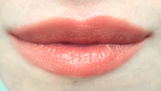 occ lip tar authentic swatch pale skin metallic sheer orange lips