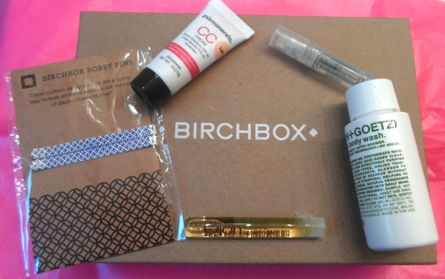 july 2013 birchbox haul review