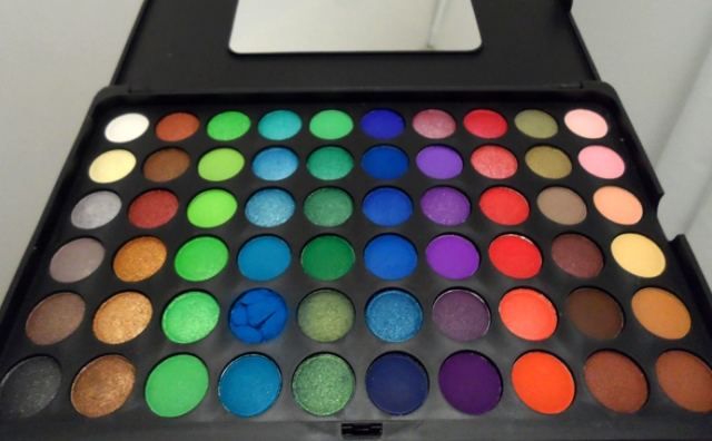 bh cosmetics 120 color eyeshadow pro palette 2nd edition