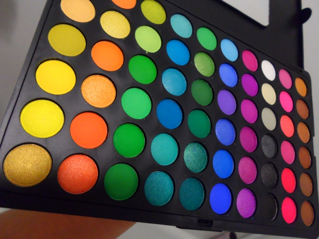 bh cosmetics 120 color eyeshadow pro palette second edition