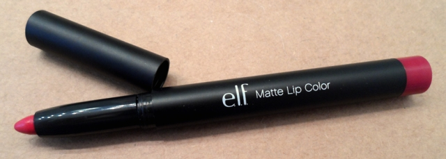 e.l.f. Studio Matte Lip Color in Rich Red lip stain pencil