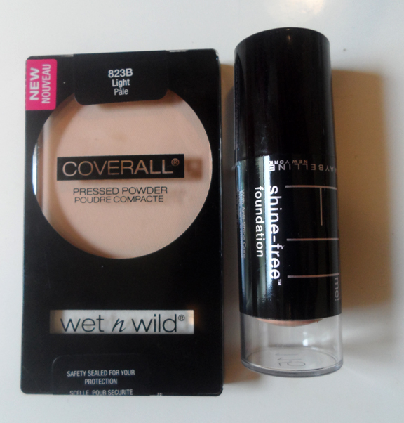 maybelline fit me shine free stick foundation shade 115 light fair pale wet n wild coverall pressed powder 823b