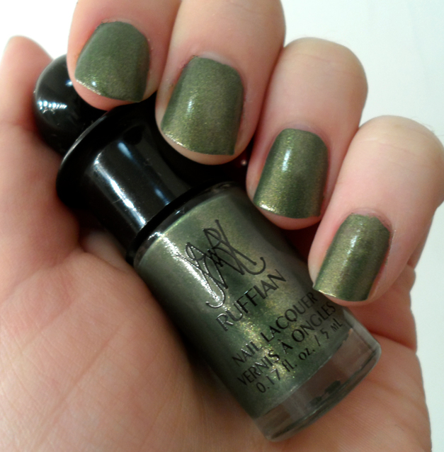 How To Make Olive Green Nail Polish: Super Belated Ipsy And Birchbox September Reviews