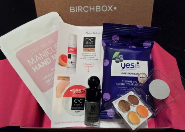 september 2013 birchbox birch box review