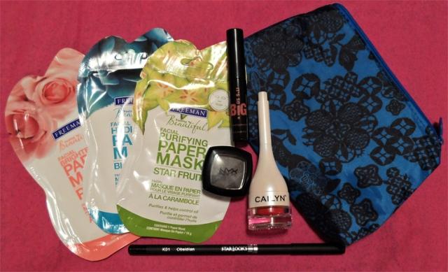september 2013 ispy glam bag review