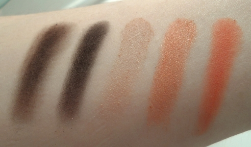 wet n wild fergie photo op eyeshadow desert festival swatches