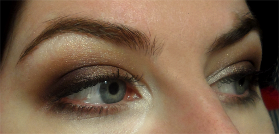 brown plum smoky eye nyx love in paris eye shadow palette Je Ne Sais Quoi