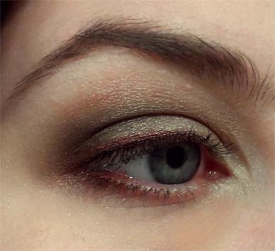 Buxom Color Choreography Eyeshadow Tango smoky eye