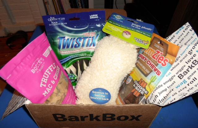 november 2013 barkbox review
