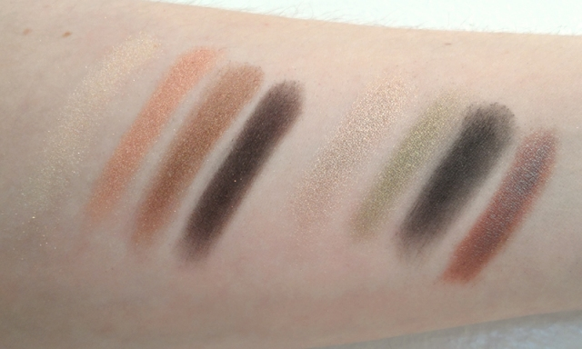 Wet n Wild Color Icon Collection Eyeshadow Comfort Zone palette swatch