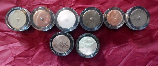 silk naturals cosmetics mineral loose eyeshadows