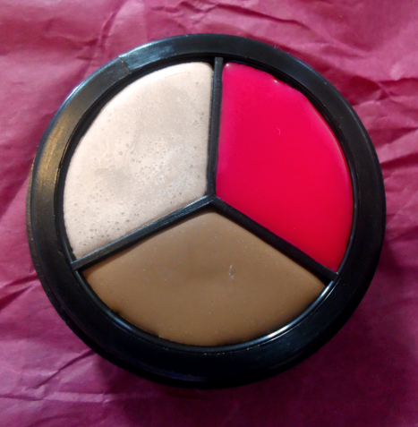 silk naturals cosmetics neopolitan hd cream blush trio swatch review