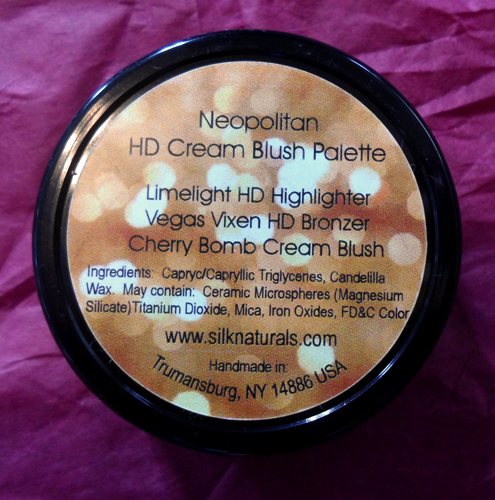 silk naturals cosmetics neopolitan hd cream blush trio