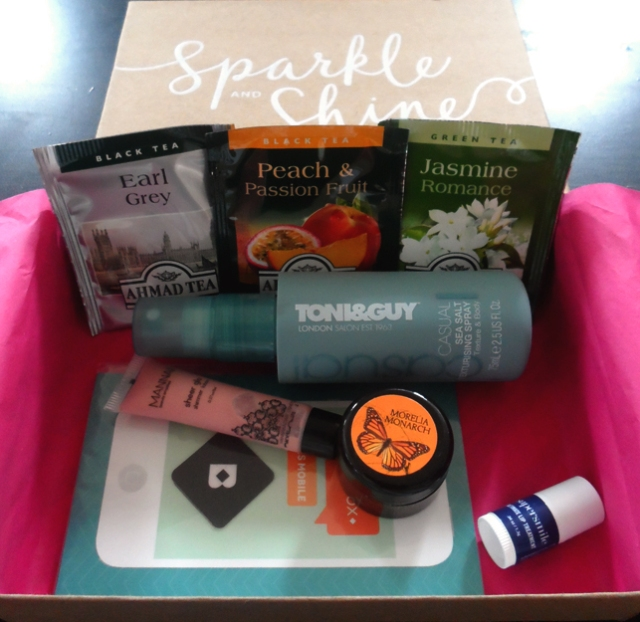 december 2013 birchbox products