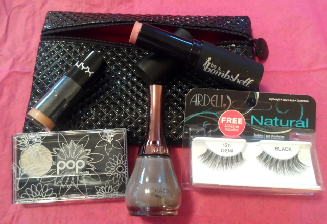 december 2013 ipsy glam bag products