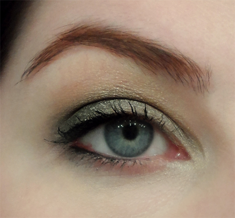 gunmetal grey eyeshadow buxom color choreography