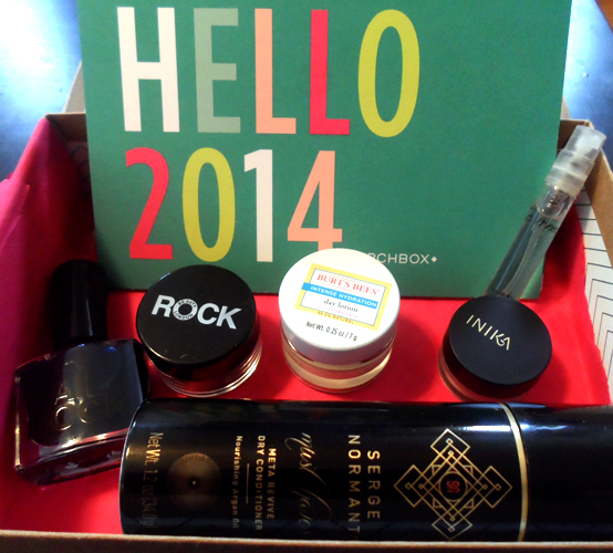 january 2014 birchbox