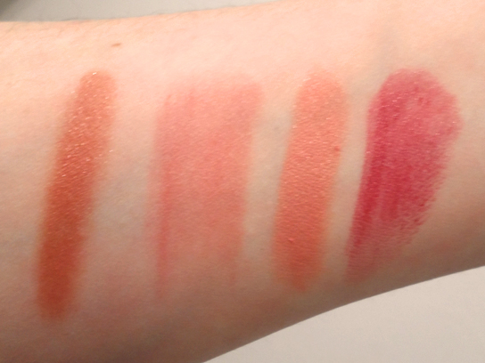 nyx and revlon lip butter balm review swatches