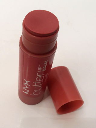nyx lip butter balm brownie