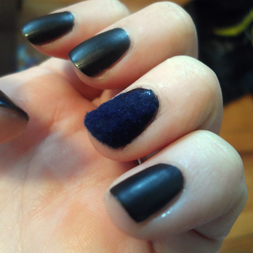 rock beauty london nail rock velvet navy