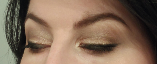 boudior eye palette shimmery nude look
