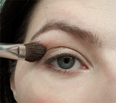 too faced natural shimmer eye tutorial