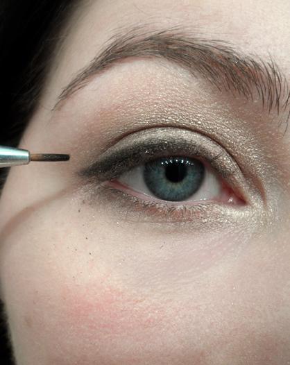 too faced shimmer eye tutorial