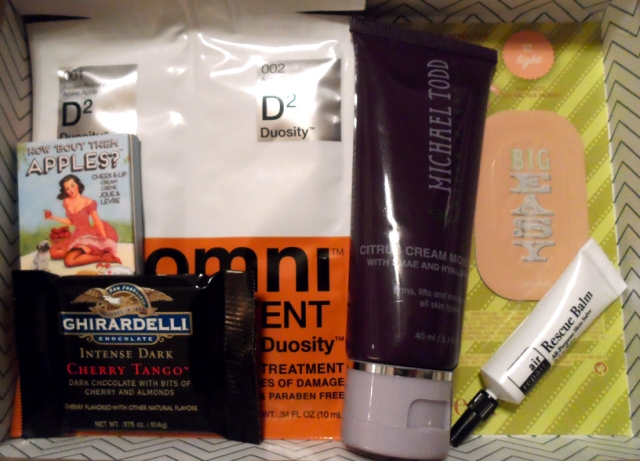 birchbox march 2014 review