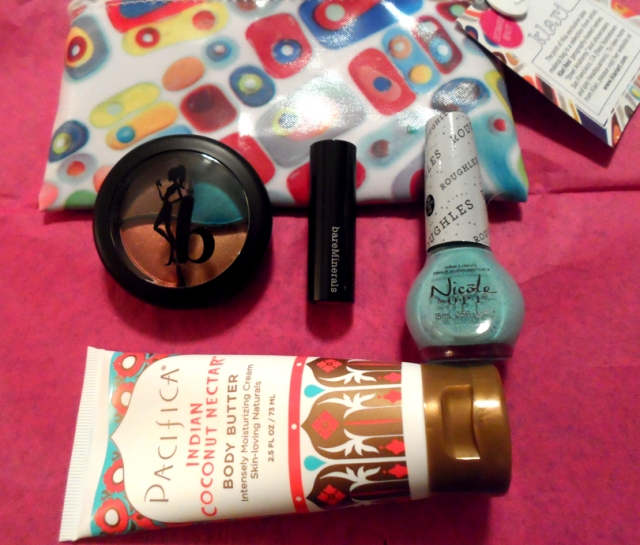 ipsy glam bag march 2014 review