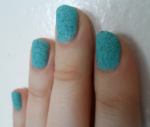 nicole by opi roughles nail polish on what grounds swatch