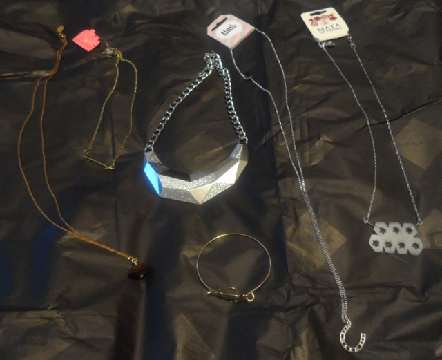 april 2014 little black bag jewelry trading haul