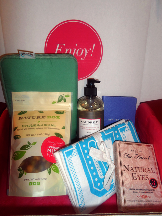 april popsugar must haves box 2014