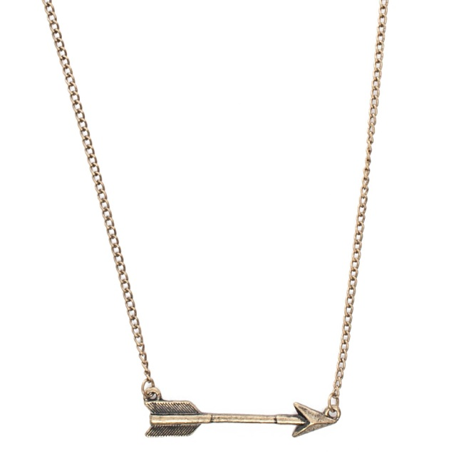 Geranium Arrow Necklace MSRP $26