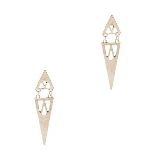 Stephan & Co Triangle Drop Earrings MSRP $18