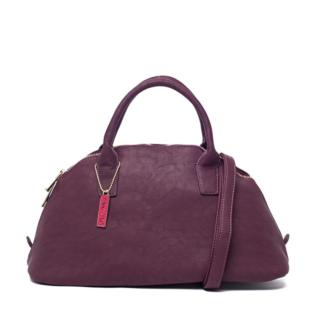 Pink Cosmo Plum Top Handle Satchel MSRP $68