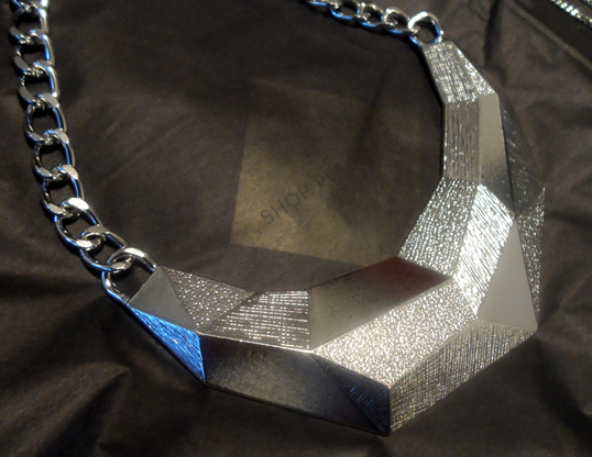 punch Geometric Collar Necklace
