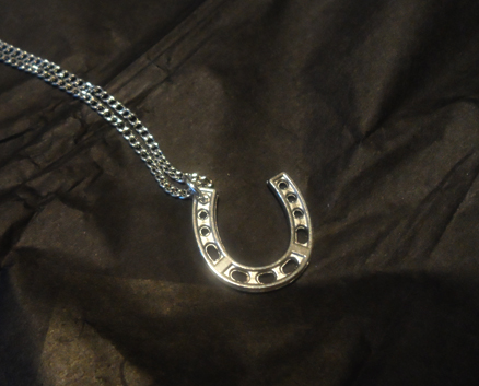 timi Large Horseshoe Necklace