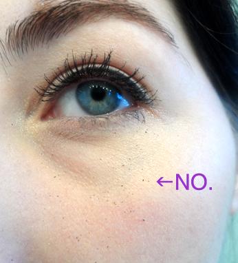 urban decay black velvet 24-7 eyeliner fallout