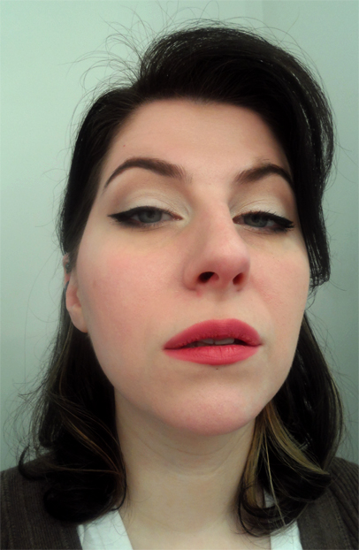 vintage style pinup makeup