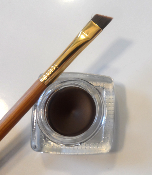 Tarte Amazonian Clay Waterproof Brow Mousse Dark Brown with double ended brush