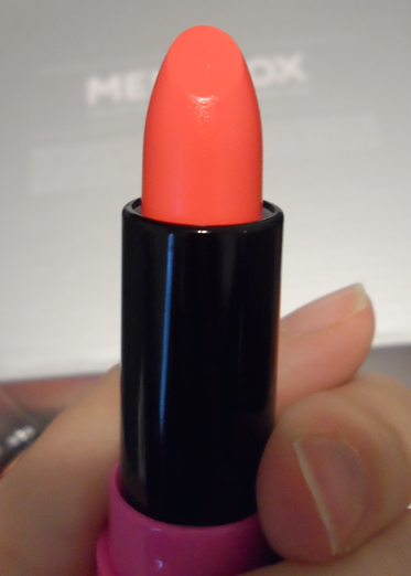 dearberry flirt lipstick in million dollar orange