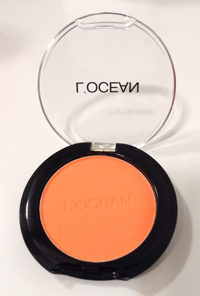 locean pastel orange korean eyeshadow memebox